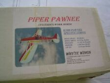 PIPER PAWNEE PA-25 AGWAGON by WHYTE WINGS WS = 89 5/8th INCHES VERY RARE PLANS