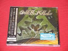 2017 OVERKILL The Grinding Wheel with Bonus Tracks JAPAN CD + DVD EDITION