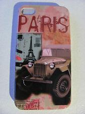 Coque Housse Etui PARIS TOUR EIFFEL TOWER Pour IPhone 4 4S