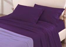 DRAPS individuelles 1 personne violet foncé - drap