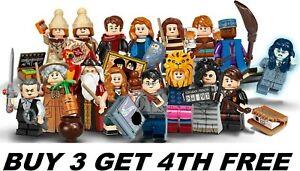 LEGO HARRY POTTER MINIFIGURES SERIES 2 71028 MINI FIGURES BUY 3 GET 4TH FREE