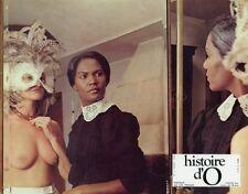SEXY CORINNE CLERY HISTOIRE D'O 1975 VINTAGE LOBBY CARD #1