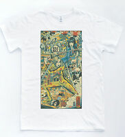 KILL Sketch Poster T-shirt Indie Cult Film Katana Comic Tee Tarantin Bil Top