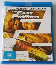 The Fast And The Furious Blu-ray, 2009 (#BRD00086)