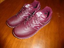 Mens New Balance NB574AAB Shoes 574  Size 9.5 burgundy gum