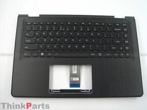 """New/Orig Lenovo Flex 3-1470 14"""" Pamrest with US Backlit Keyboard 5CB0J34105 BLK"""