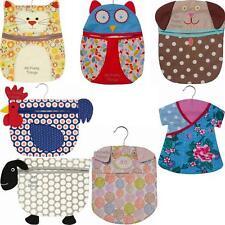 Cotton PEG BAG Cat Dog Owl Sheep Chicken ULSTER WEAVERS Laundry Storage Hanger