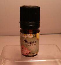 Natures Sunshine Bergamont Essential Oil New Sealed 5ML Aromatherapy