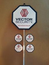 Reflective Vector Security Yard Sign w/ 4 Door/Window Deals