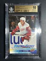2016-17 Upper Deck Anthony Mantha Young Guns Canvas Rookie BGS 10
