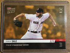 2019 Topps NOW ODB-7 Chris Sale Boston Red Sox [5.14.19] ~ PR 206