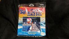 "Inflatable 48"" Jumbo Beach Ball Classic Colors"