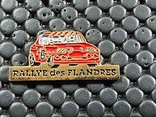PINS PIN BADGE CAR RENAULT 8 R8 GORDINI RALLYE FLANDRES