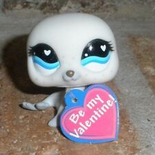 Littlest Pet Shop Exclusive VALENTINE BABY SEAL w heart tag 555 HTF