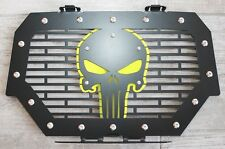 Steel Grille + Lime Squeeze SKULL for Polaris RZR 1000 XP 14-18 RZR 900 S ATV