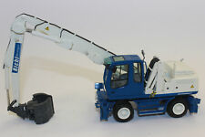 KK NZG 683/1 Liebherr A 904 Mobile Bagger with umschlaggreifer Richi 1:50 New KK