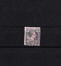 MONACO  prince Charles III     40c   bleu    num:  7   oblitéré