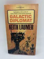Galactic Diplomat Keith  Laumer 1966 Berkley 1st Vintage Sci Fi PB Book
