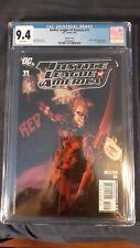 Justice league of America 11 CGC 9.4 Gene Ha Variant Red Arrow Vixen Meltzer