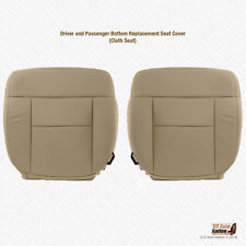 2004 - 2008 Ford F150 DRIVER & PASSENGER Bottom Tan Cloth Replacement Seat Cover