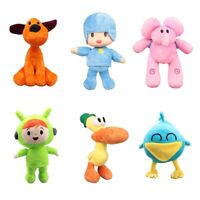 Pocoyo Loula Dog Pato Elly Nina Sleepy Bird 6 Stuffed Plush Toys Children Gift