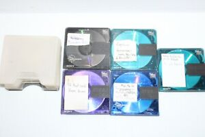 SONY MINI DISC COLOR COLLECTION RECORDABLE MD X5 FREE POSTAGE