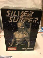 Silver Surfer Cromo #255 de 300 Diamond Select Busto Estatua Estatuilla Raro! nuevo!