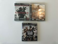 PS3 Bundle! Army of Two, Crysis 3, and MW2!
