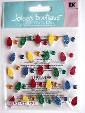 Jolee's Boutique Pegatinas-Navidad Luces se repite