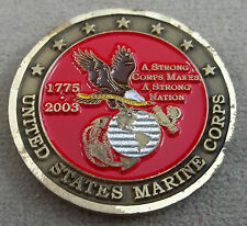 US Marine Corps Semper Fidelis 1775 - 2003 Challenge Coin