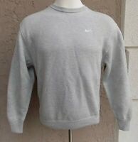 $270 Nike Lab Men's Size Small S  Gray Grey Crew NRG MII Sweater Cotton Blend