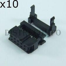 Connecteur HE10 femelle standard à sertir 10 points (lot de 10)
