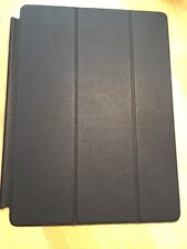 """Genuine Apple iPad Pro 12.9"""" Smart Cover Leather Front Cover Black"""