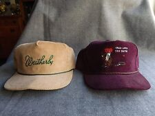 Lot 2 Weatherly PA Golf Club + Hodja Lakes Course Turkey Arab Trucker Cap Hats