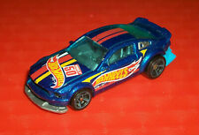### HOTWHEELS BLUE 2005 FORD MUSTANG  MADE IN MALAYSIA