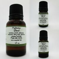 Meditation Blend 100% PURE Essential Oils Used Buy 3 get 1 FREE add 4 to cart
