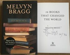12 Books That Changed The World By Melvyn Bragg Signed First Edition