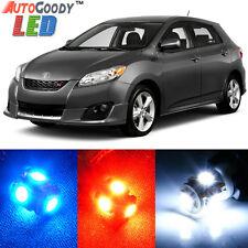 4 x Premium Xenon White LED Lights Interior Package for Toyota Matrix + Tool