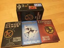 The Hunger Games Trilogy Complete Set by Suzanne Collins  Hardcover