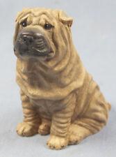 Shar pei figur hund  hundefigur faltenhund figura figure castagna g