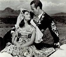 "1953 Original Photo Actress Pier Angeli Ricardo Montalban in ""Sombrero"" movie"
