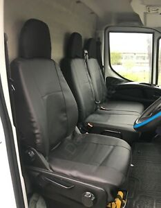 Tailored To Fit 2016+ Onward Premium Black leatherette HEAVY Duty Seat Covers