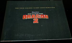 HOW TO TRAIN YOUR DRAGON 2 Press Kit book FYC for your consideration