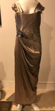 GORGEOUS AND AUTHENTIC VICTORIA ROYAL  Bronze Gown ,Sz 10!! CAMDAY