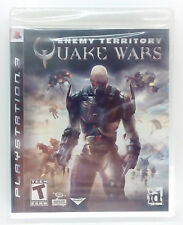 QUAKE WARS ENEMY TERRITORY PS3 PLAYSTATION 3 THREE EUROPEAN PAL NEW & SEALED