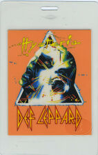DEF LEPPARD 1988 HYSTERIA TOUR LAMINATED BACKSTAGE PASS