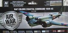 AV Vallejo 71148 Model Air Air Wars RAF & FAA Coastal Command 1939-45 paint set