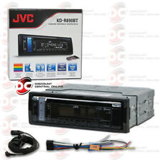 JVC KD-R890BT SINGLE DIN CAR AUDIO STEREO CD MP3 RECEIVER WITH AUX & USB INPUT