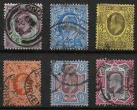 KEVII. Group of 6 Items In Good/Fine Used Condition.Unchecked For I.D. Ref:07151