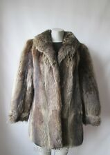 Women's Sz 8 MINT Raccoon Fur Coat Jacket Sale